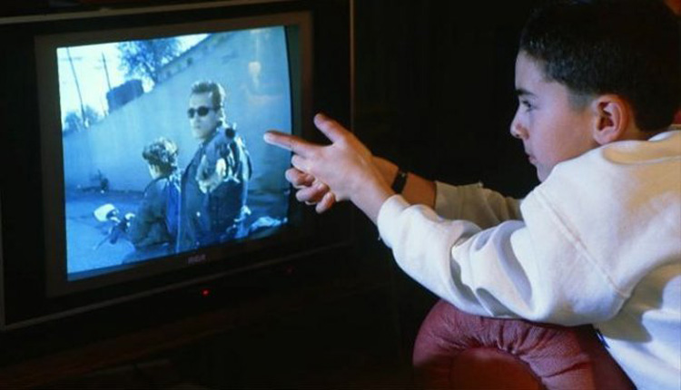 the effects of television violence on children in the united states