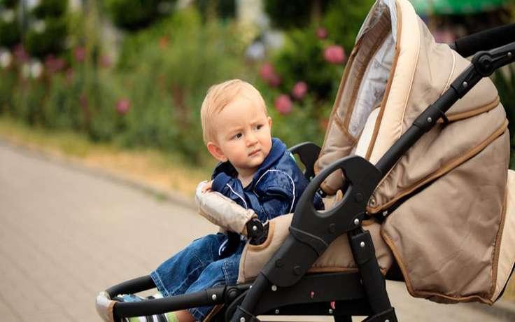 ребенок в коляске картинки