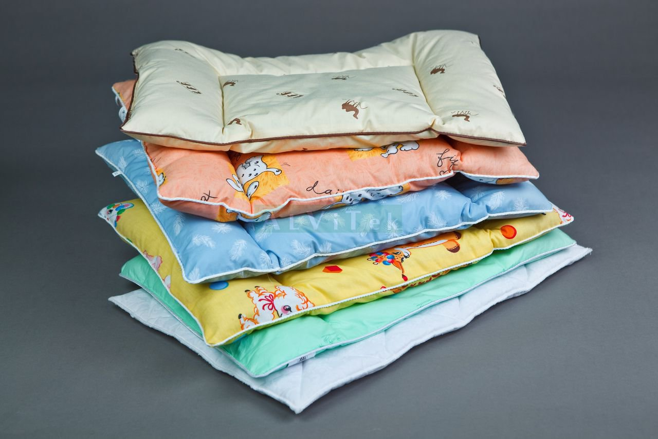Размер подушки для ребенка 2 лет